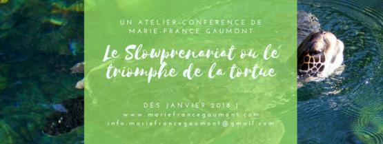 Une conférence de Marie-France Gaumont (1)